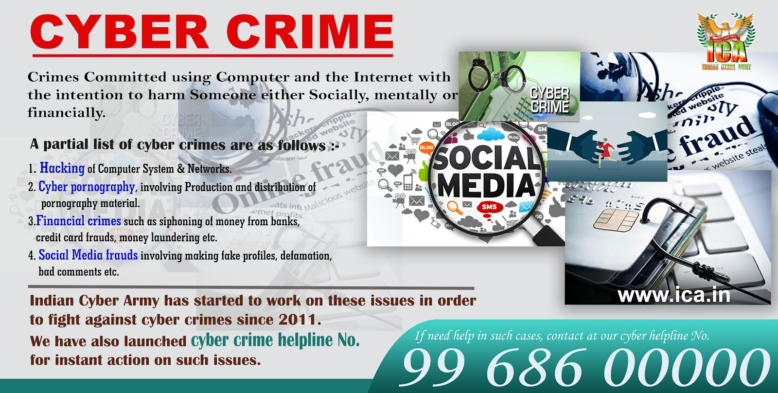 the abuse of identity theft and child soliciting either as cyber crime or non cyber crime The 12 types of cyber crime in order to protect yourself you need to know about the different ways in which your computer can be compromised and your privacy infringed.