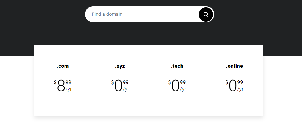 zyro domains and hosting
