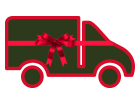 Van With Ribbon - Tesco