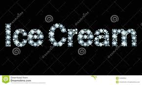 Image result for ice cream word