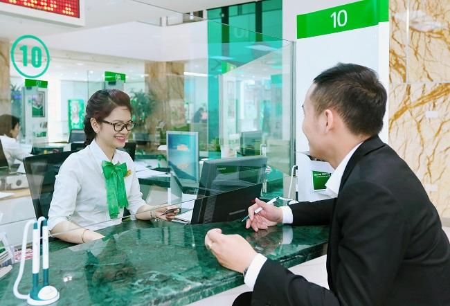 Giao dịch tại ngân hàng Vietcombank