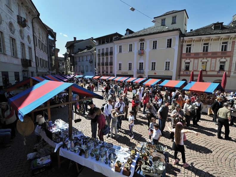 Image result for saturday market place bellinzona