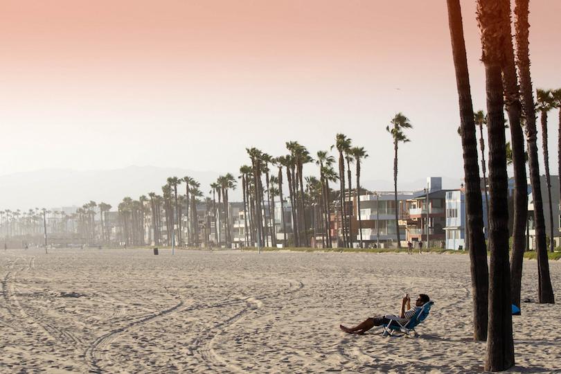 Os principais pontos turisticos dos estados unidos da América - praia de Veneza