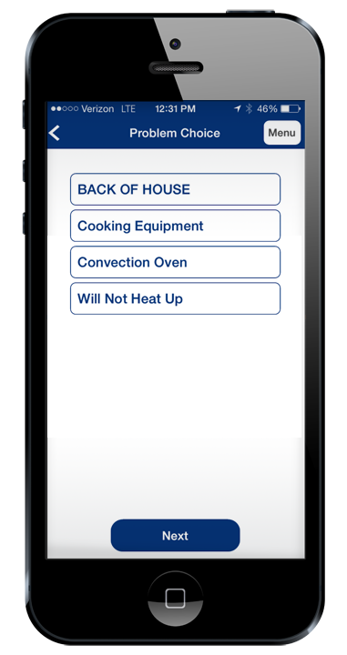 Mobile Work Order Management for Restaurants