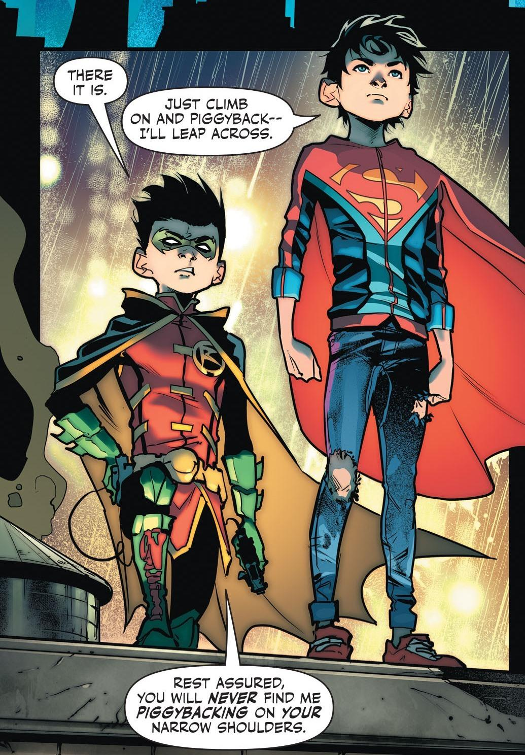 Spoiler Warning: Why I think Super Sons is one of best comics right now. -  Gen. Discussion - Comic Vine