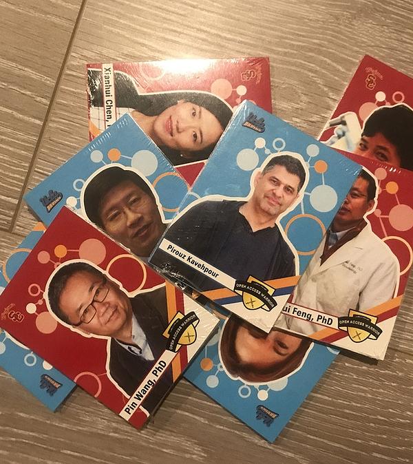 Open Covid Pledge Trading Cards