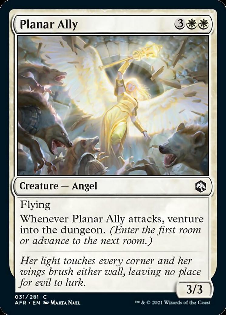 Planar Ally MTG Card