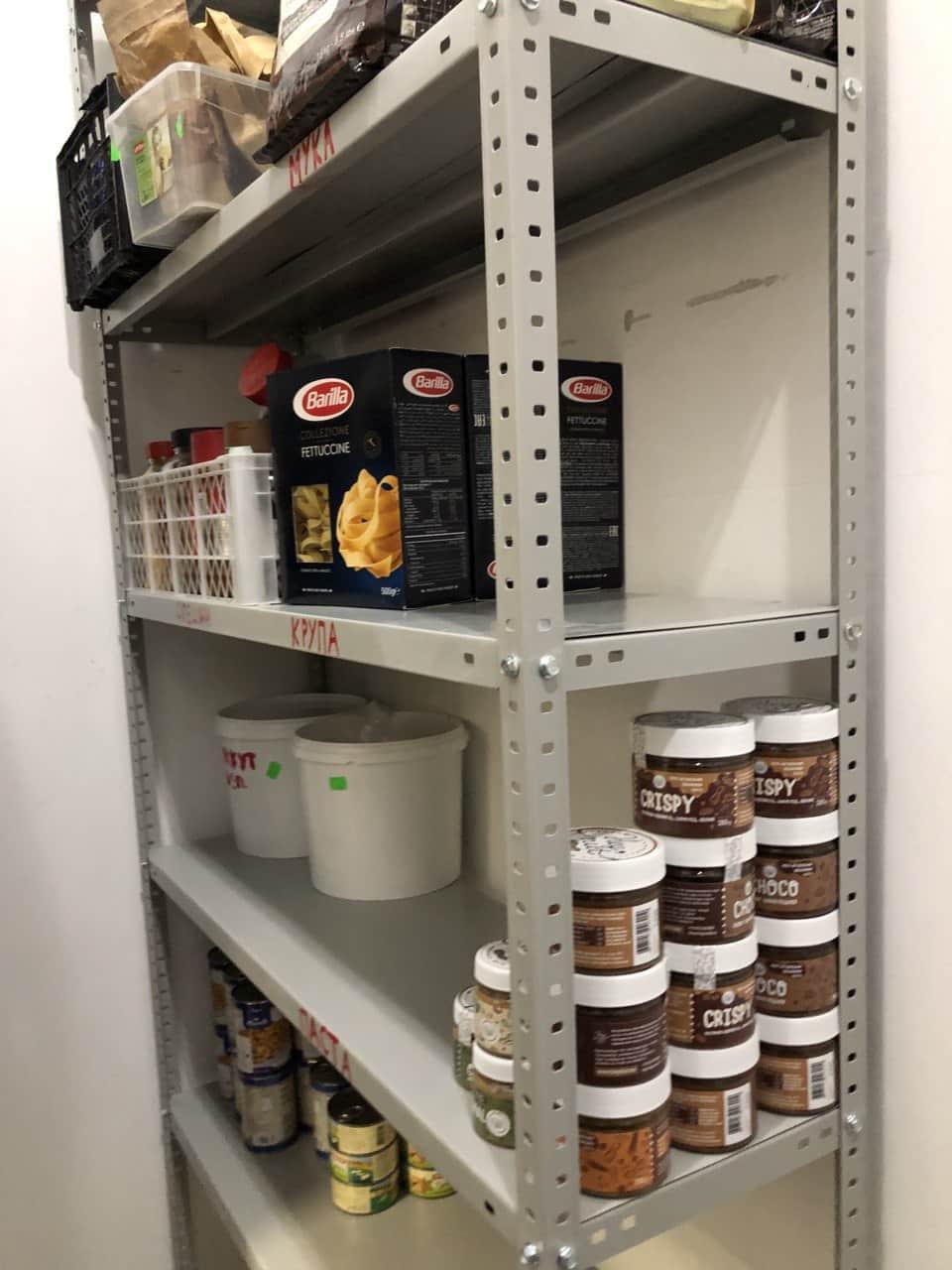 Хранение продуктов на складе