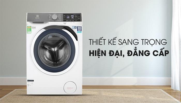 Công nghệ Vapour Care giúp máy giặt sấy Electrolux Inverter 10 kg EWW1042AEWA diệt đến 99.9% vi khuẩn