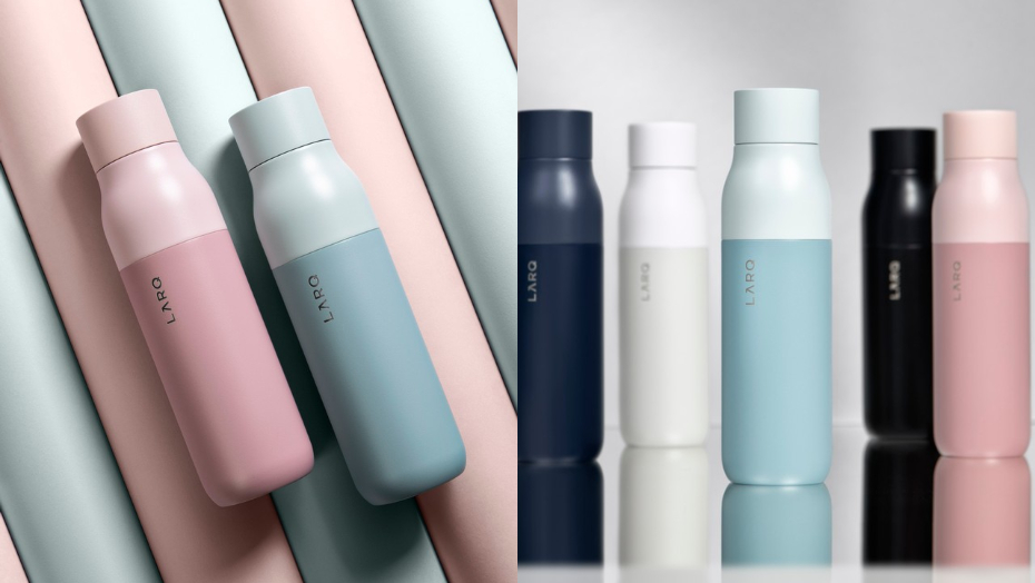 Smart water bottles larq