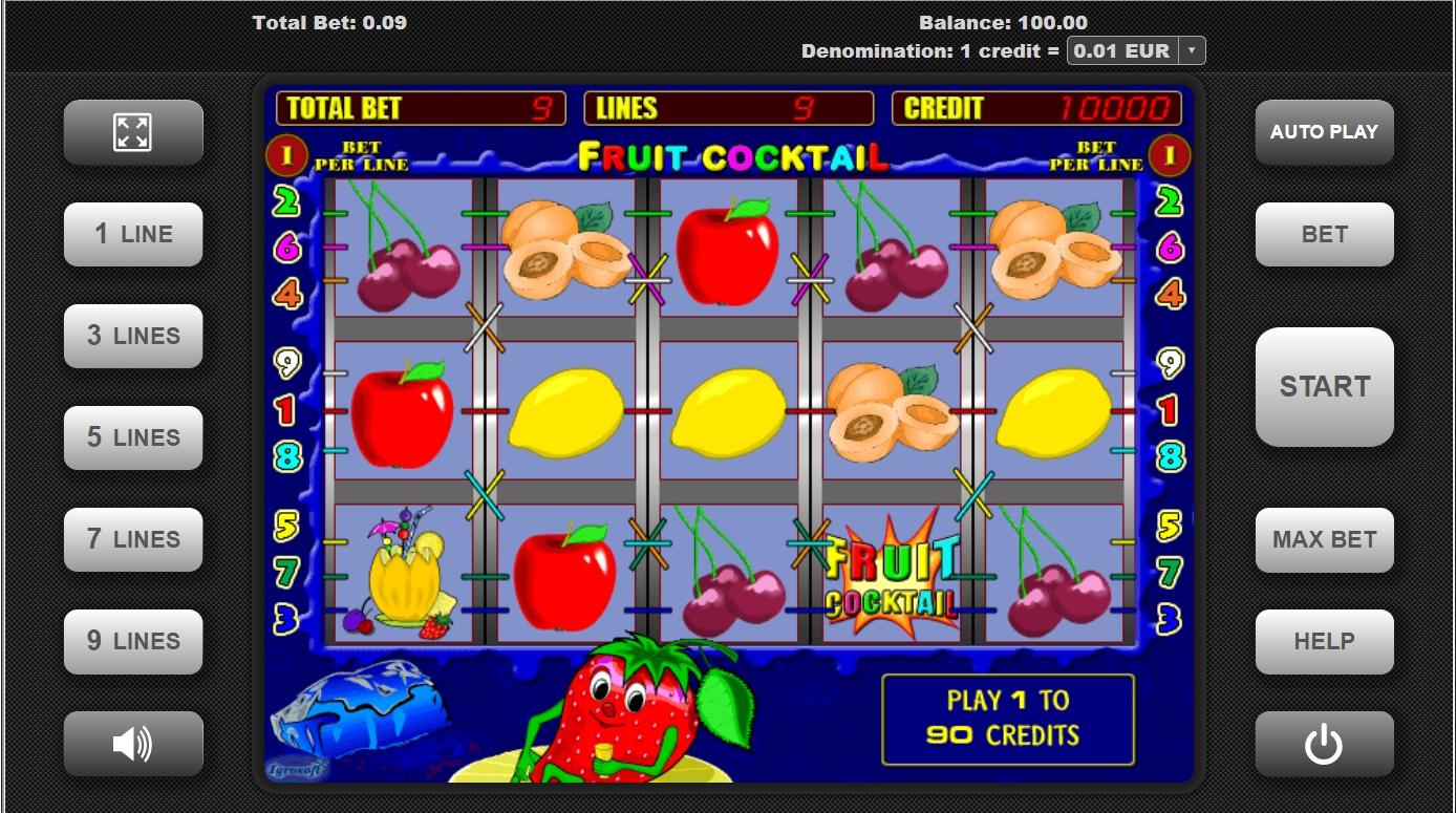 секреты игрового автомата fruit