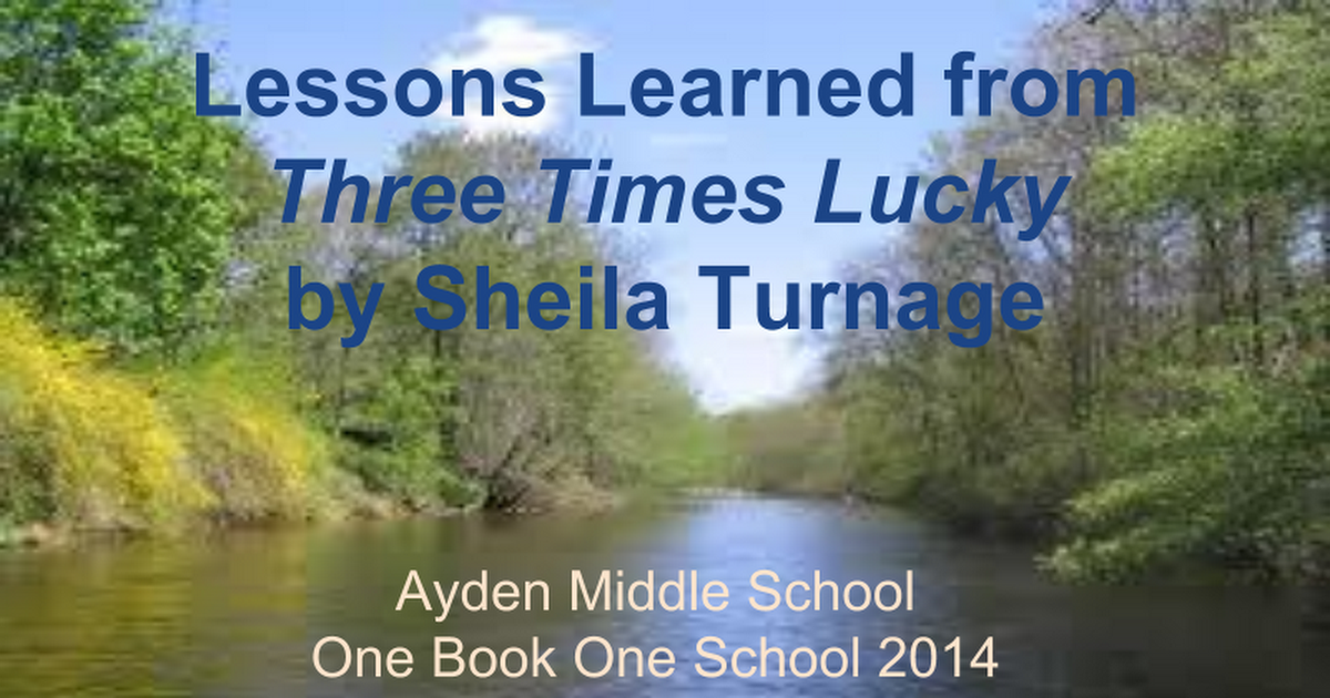 Three times lucky 1b1s 2014 lessons learned google slides fandeluxe