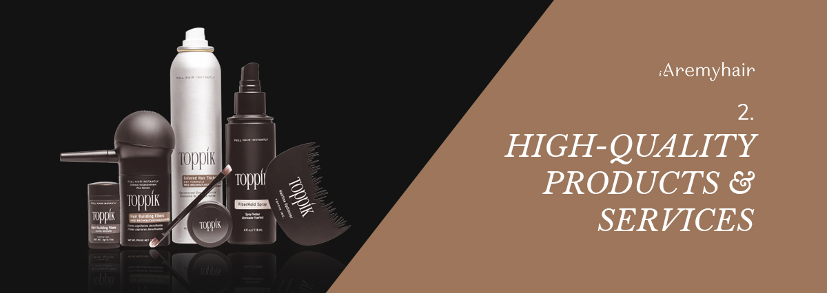 High-Quality Products and Services - Aremyhair