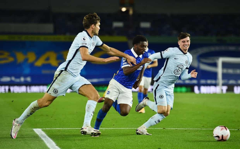 Chelsea đã đánh bại Brighton 3-1 ở trận lượt đi
