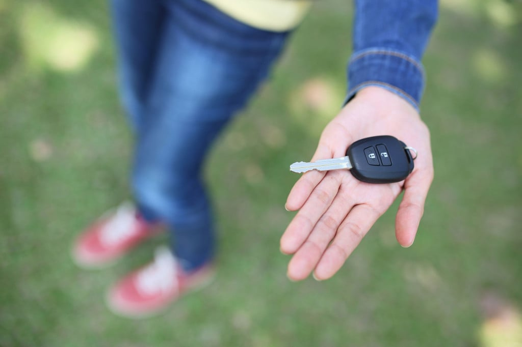 Teens First Car Keys