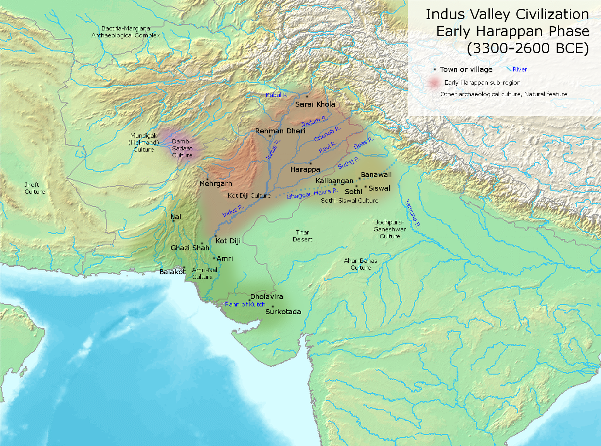 archaeological sites dating to northwest indias neolithic period and the indus valley civilization agricultural village