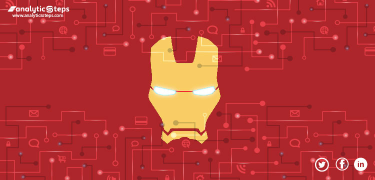 The image gives a glimpse of Tony Stark's application of Internet of Things IoT