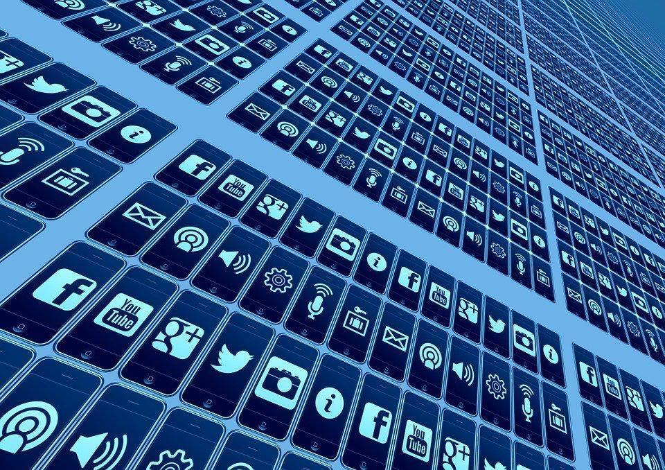 アプリ, 社会的なメディア, ネットワーク, インターネット, 社会的ネットワーク, ロゴ, Facebook
