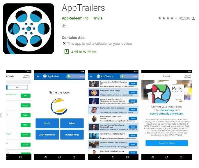 appTralilers