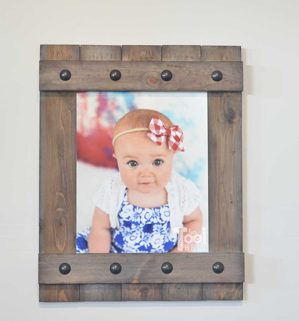 Picture Frame: These 50 Woodworking Projects That Sell Online will help you make some money.