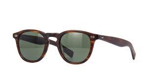 Garrett Leight Hampton X 2082 MBRT/PG15 Pure G15 Green Sunglasses |  Pretavoir