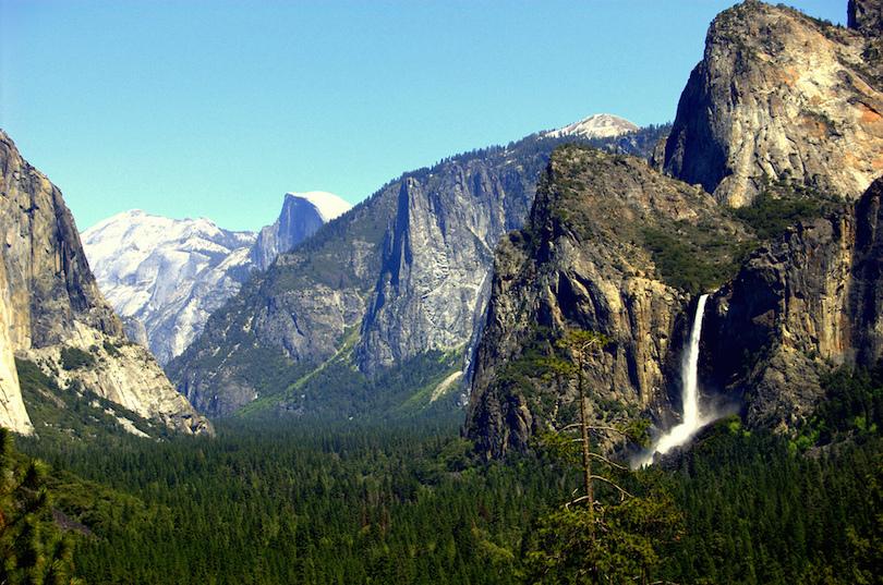 Os principais pontos turisticos dos estados unidos da América - Parque Nacional de Yosemite