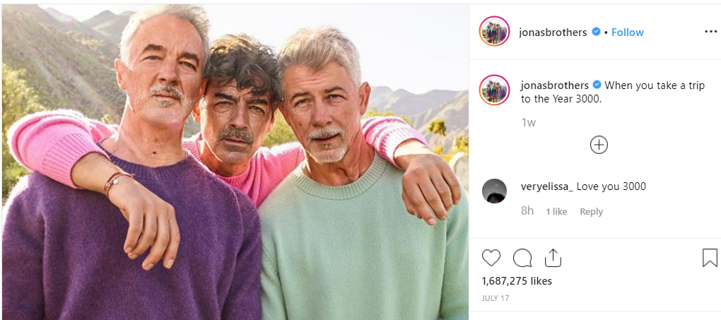 Jonas Brothers faceapp privacy issues
