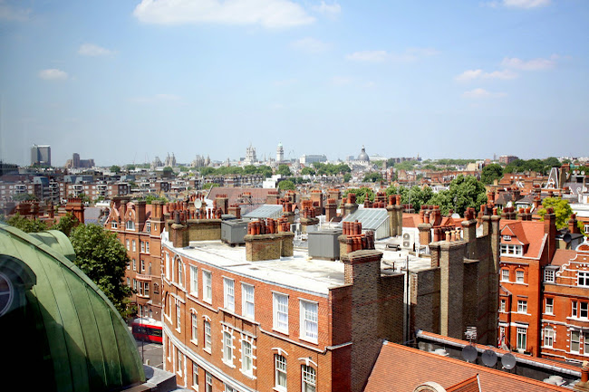 View of Chelsea, London