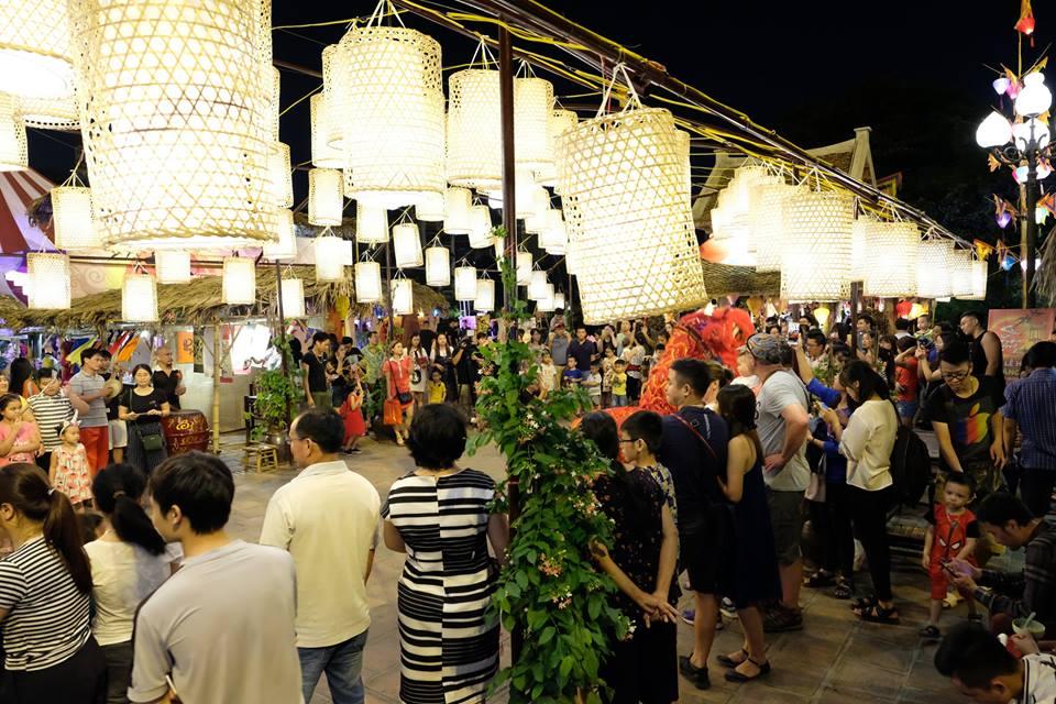 Sự kiện Ký ức mùa trăng hấp dẫn hàng chục nghìn lượt du khách