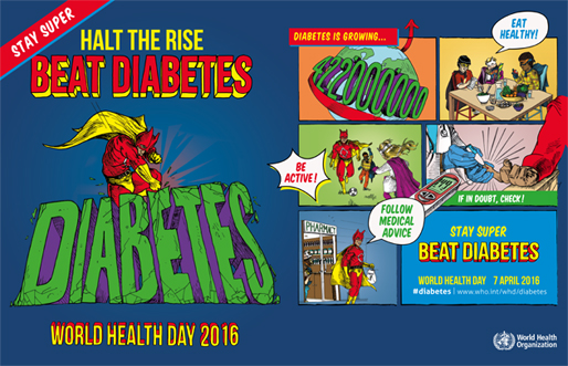 World Health Day 2016 banner