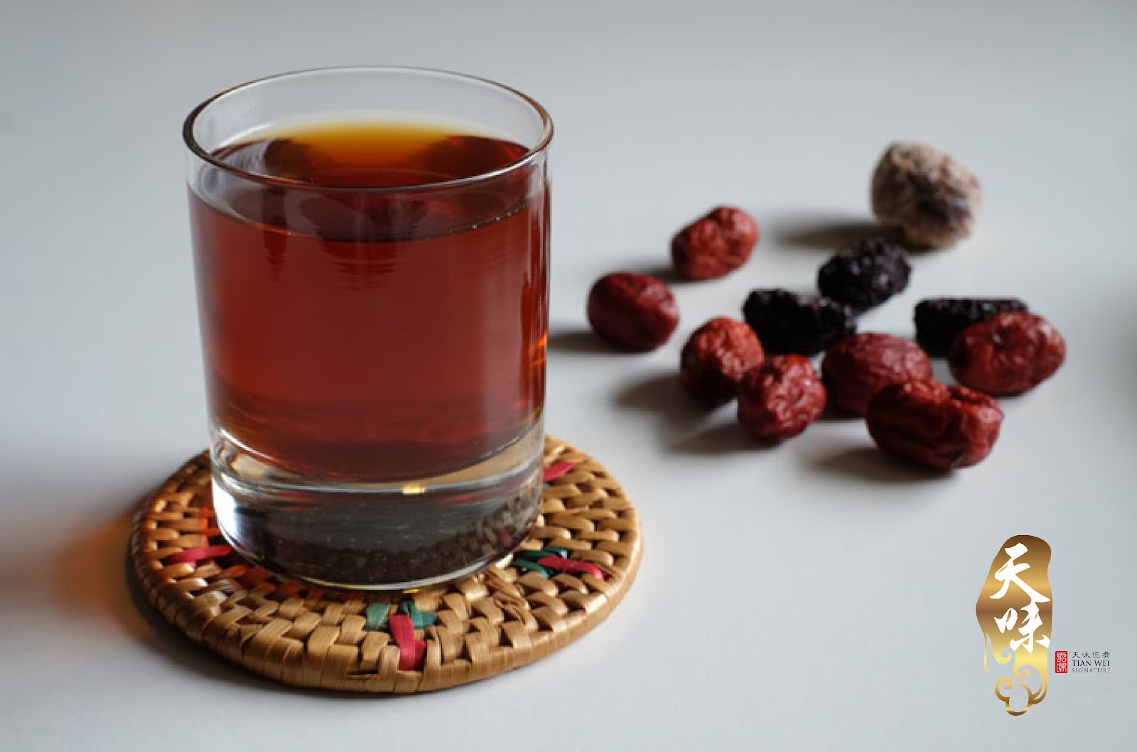 Red Dates Longan Tea