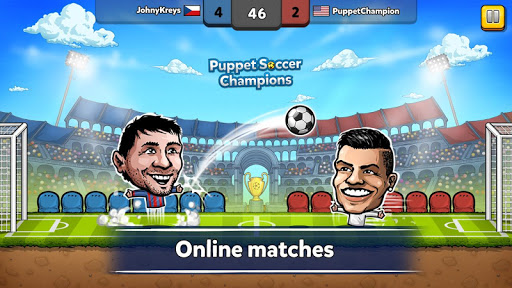 ⚽ Puppet Soccer Champions – Fighters League ❤🏆- screenshot thumbnail