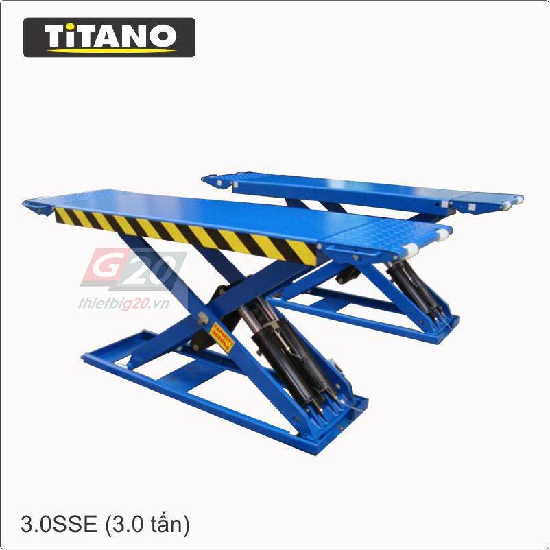 Giới thiệu cầu nâng cắt kéo Titano nhiều người dùng nhất