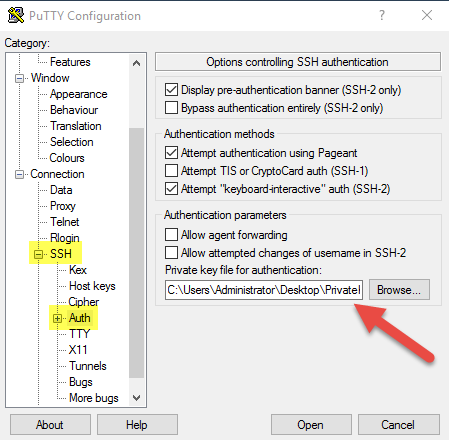 ssh key authentication active directory