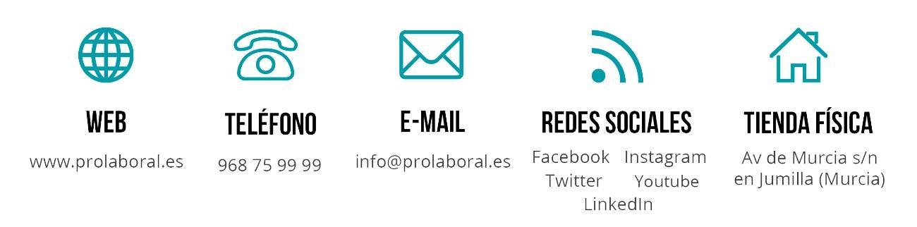 Contacta con Prolaboral