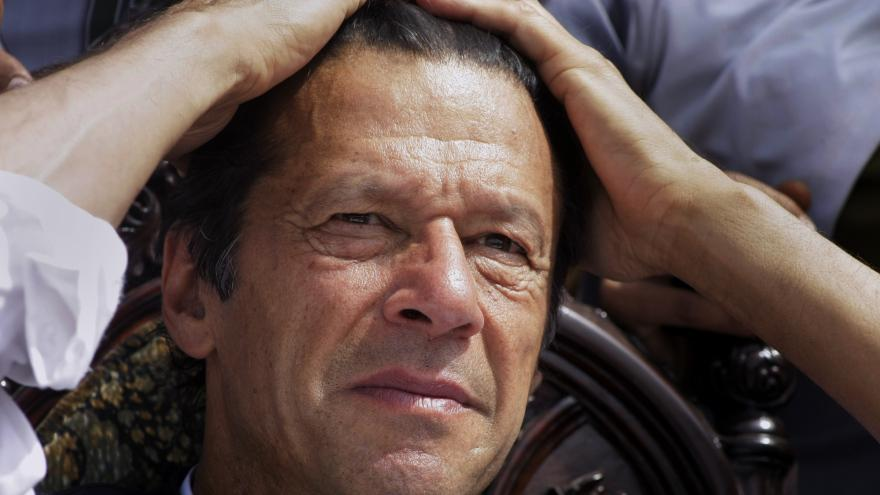 Image result for imran khan stressed