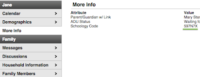 Schoology: How to Create a Parent Account