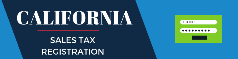 California Sales Tax Registration