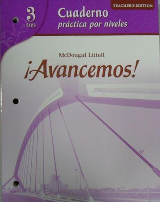 McDougal Littell Avancemos! 3 Cuaderno Practica por Niveles