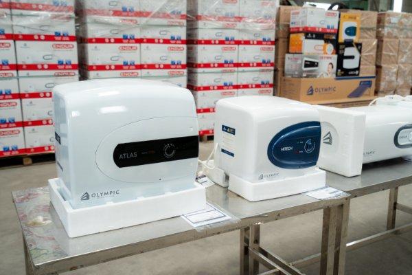 Bình nóng lạnh Olympic được sản xuất trên dây chuyền hiện đại