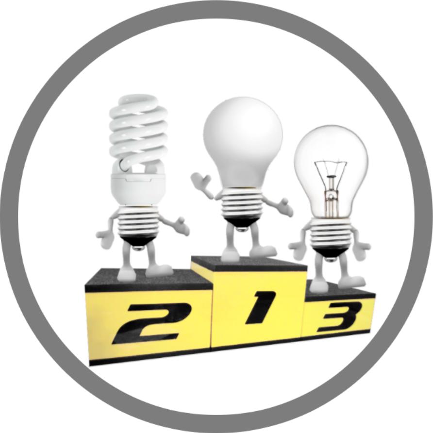 сравнение LED и люминесцентной лампы