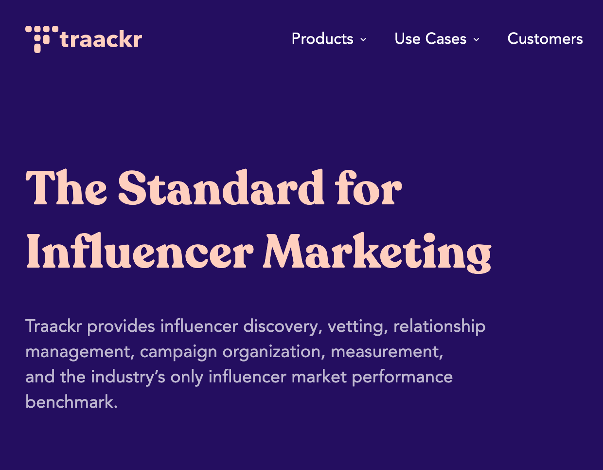 Traacker - Influencer Relationship Management