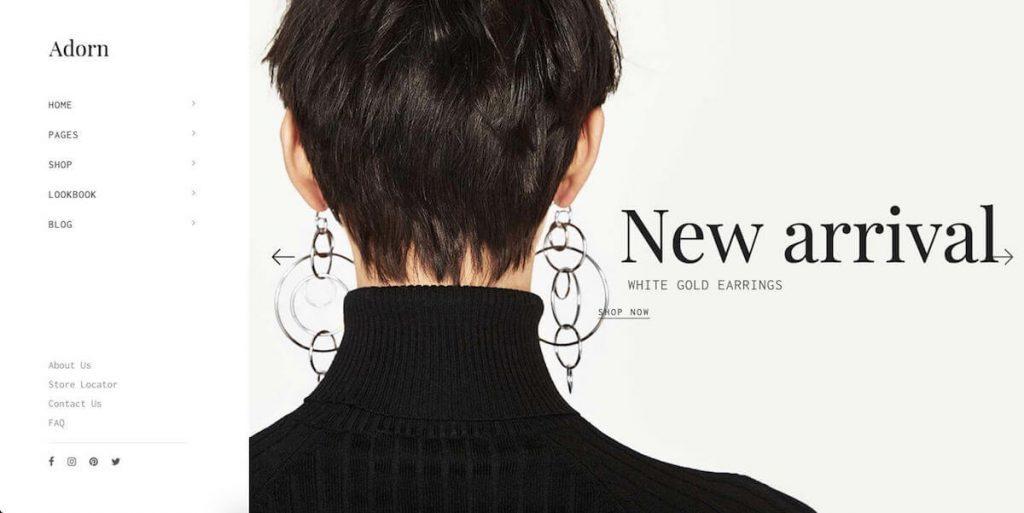 Adorn - fashion ecommerce wordpress themes