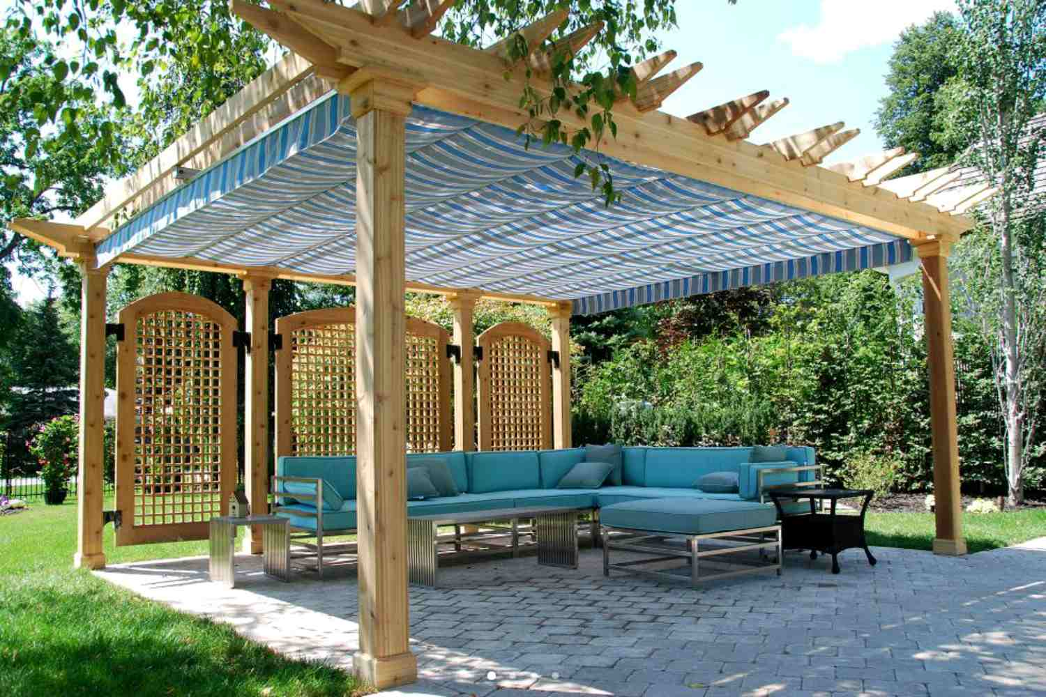 building an outdoor living space