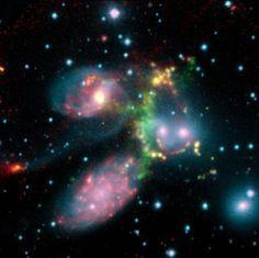 Resultado de imagen de Exoplaneta alumbrado porestrella azul