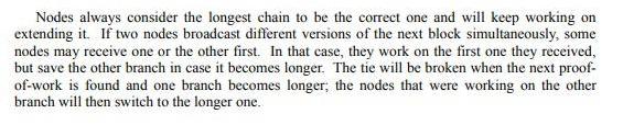Информация из white paper Bitcoin.