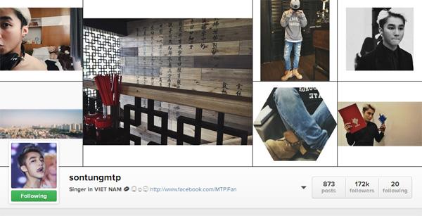 Top 5 sao Việt có lượng follow nhiều nhất trên instagram3