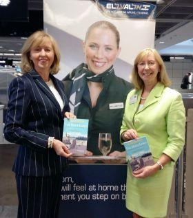 Catherine Grennell-Whyte (ATTS...GSA El Al) and Marion Benton (MAP Travel)