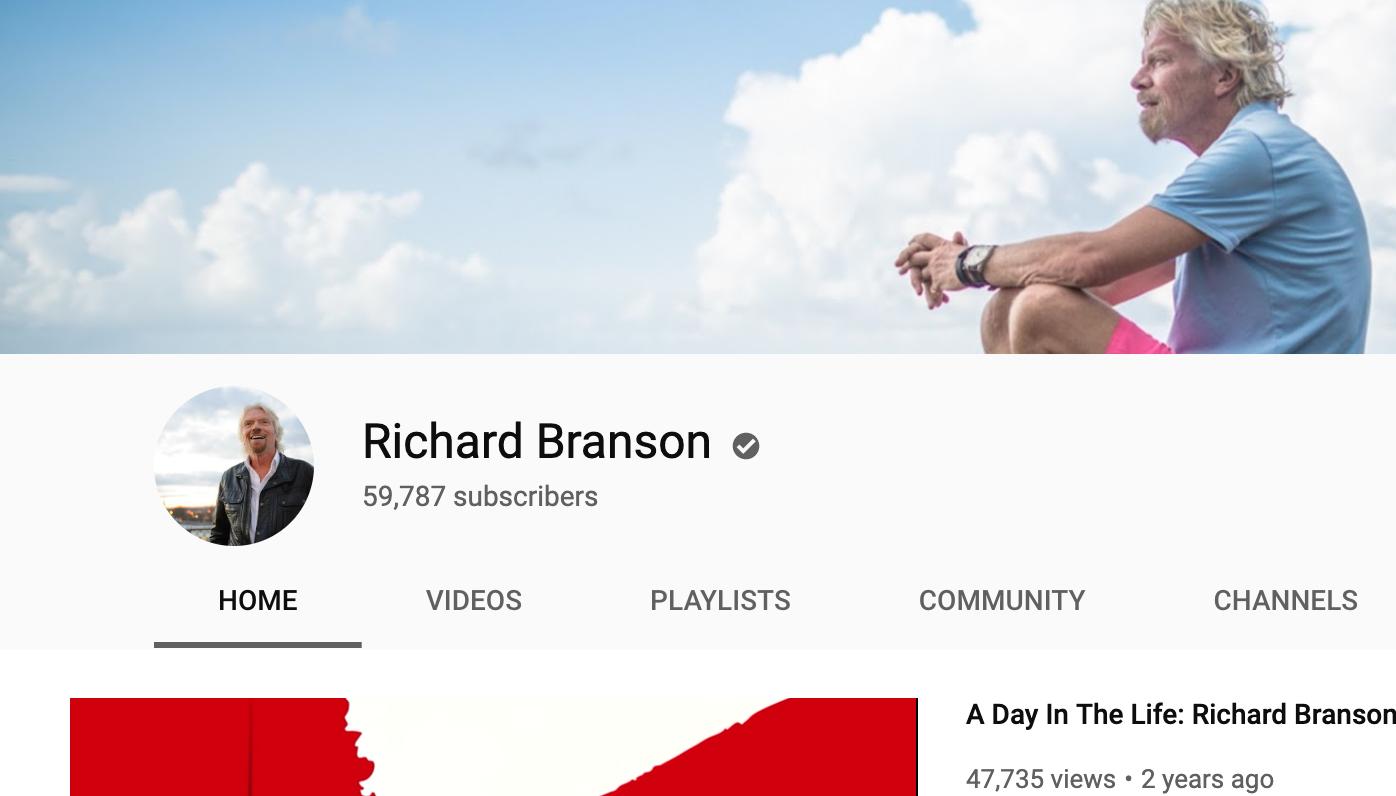 Richard Branson - Inspiring Entrepreneurs