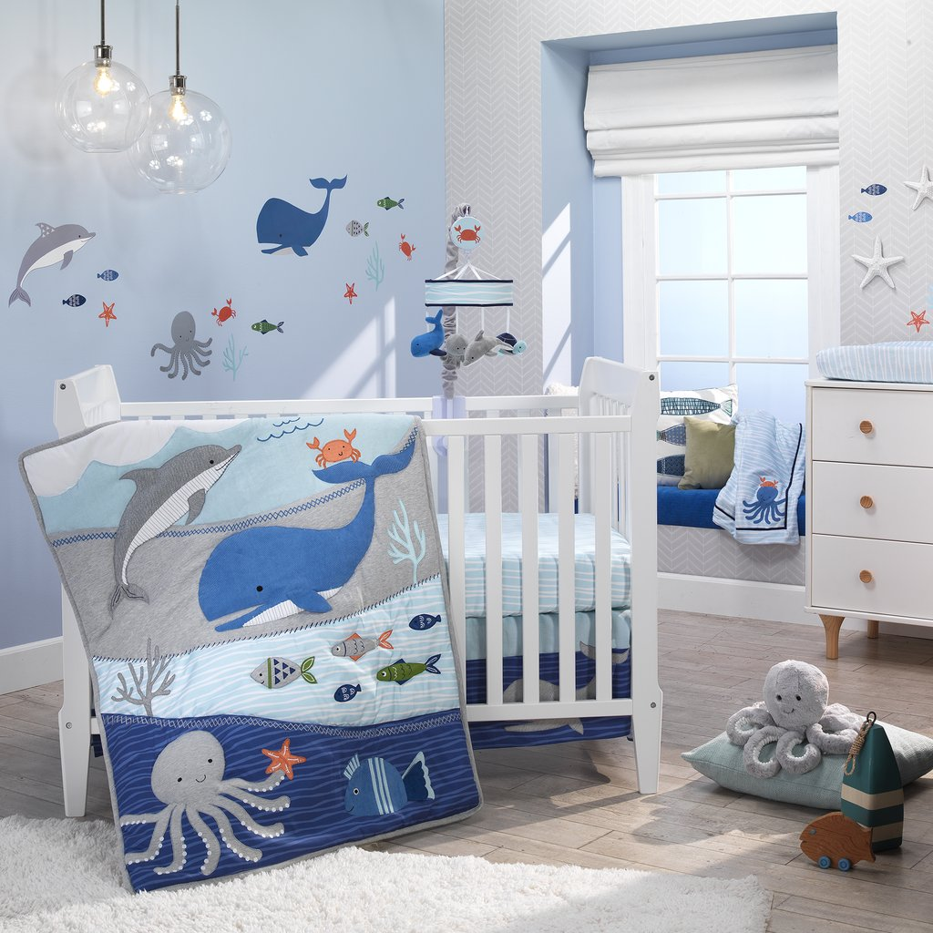 Dream about The Sea Life Beach Themed Bedroom